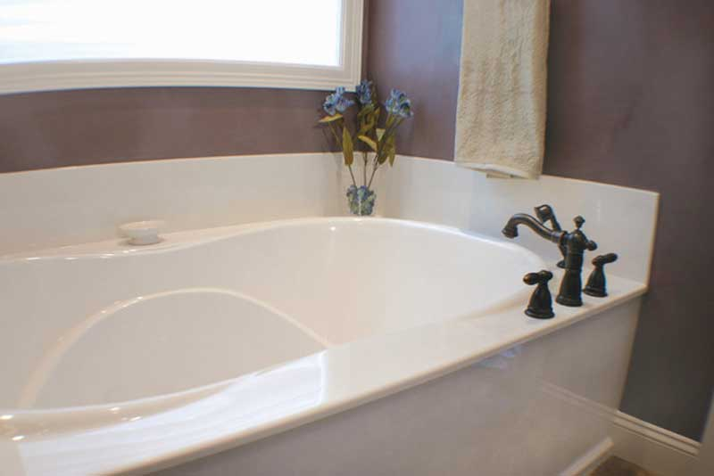Cultured Marble Tub