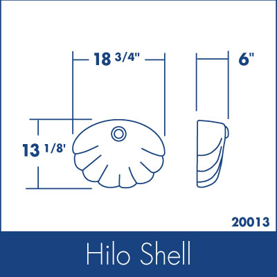 Ozarks Marble Hilo Shell Specs