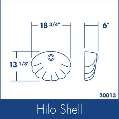 Ozarks Marble Hilo Shell Specs